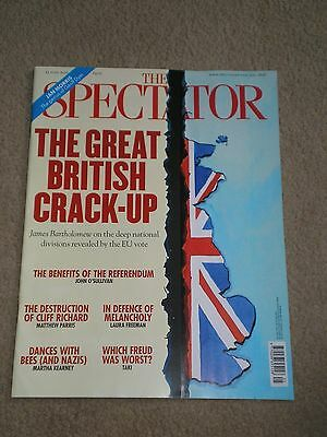 the spectator magazine 25 june 2016. the great british crack-up