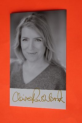 Claire Rushbrook (Home Fires) Signed Photo