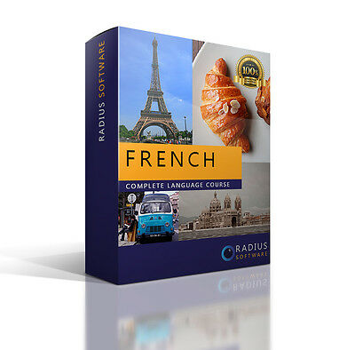 Comprehenive French Language Course. Learn how to speak and write fluent French