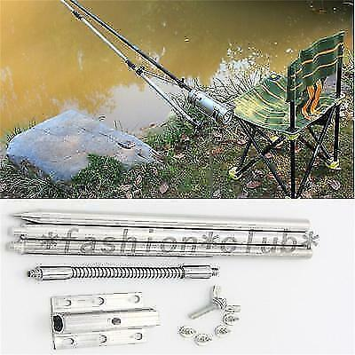New Fishing Stainless Steel Stents Fly Box Bracket Mast