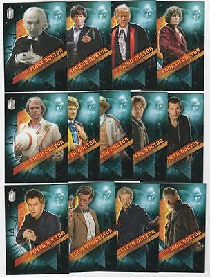 Topps DOCTOR WHO Timeless - Doctors Across Time - 13 card - Chase Set