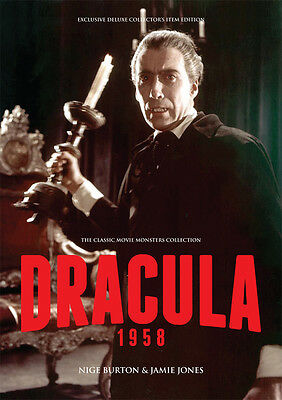 Dracula 1958 Peter Cushing Christopher Lee Hammer horror movie magazine