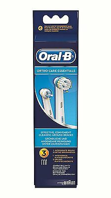 Oral-B Aufsteckbürsten Ortho Care Essentials Inhalt: 3St