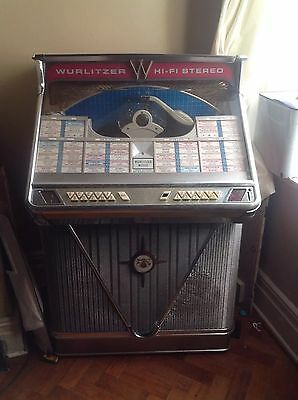 wurlitzer jukebox 1960s Work Order