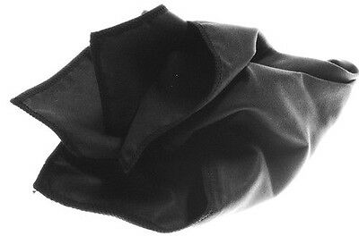 Black (12x12) Horosafe Watch Polish Buffing Cleaning Cloth for your Delaneau