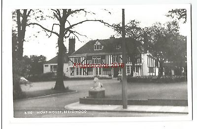 Essex Brentwood Moat House Real Photo Vintage Postcard