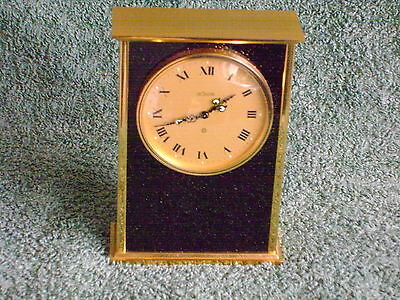 RARE VINTAGE (1950's) LECOULTRE 8 DAY MANTEL CLOCK IN GOOD WORKING ORDER