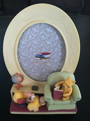 Michel & Company Classic Pooh's Library Frame -Never Used in Original Box