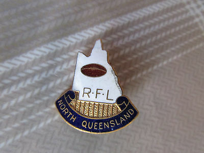 Original & Early North QUEENSLAND RFL Rugby Football League Australia Badge