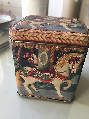 Vintage Tin Collectable Carousel Horse Fairground Must See