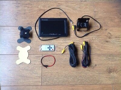 "IR Reverse Camera + 7"" Monitor Kit for Tractor Combine Baler Self Propelled"