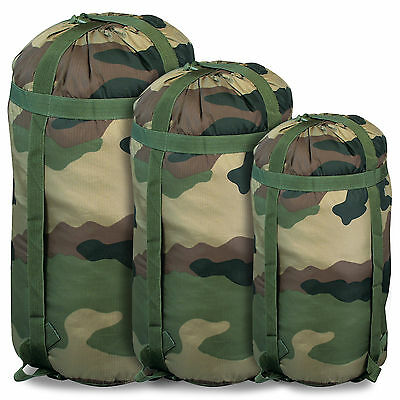 Waterproof Dry Military Army Camping Sleeping Bag Compression Stuff Sack Camo