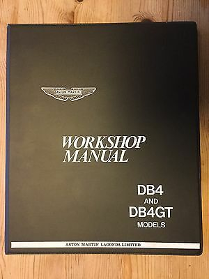 Aston Martin Db4 Db4Gt Owners Workshop Manual Technical Guide