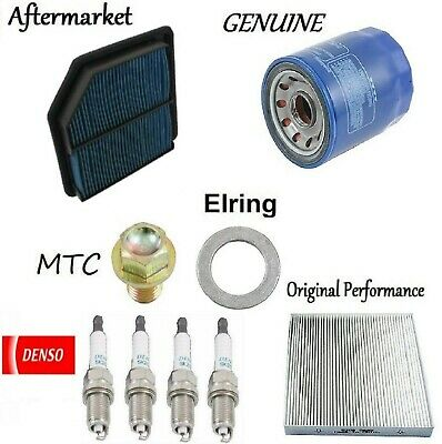 Tune Up Kit Air Cabin Oil Fuel Filters Plugs For CADILLAC CTS V6 3.6L 2008-2009