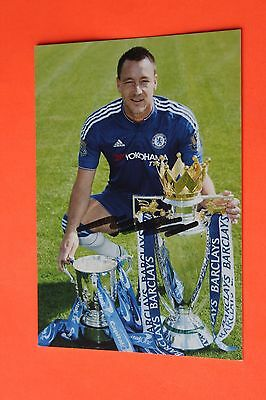 John Terry (Chelsea) Signed Club Card
