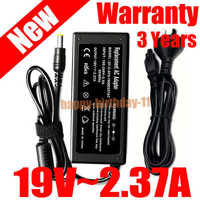 Laptop AC Adapter Charger for Toshiba Satellite C50D-A PA3822E-1AC3 19V 2.37A