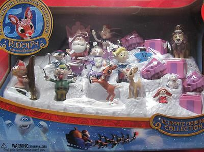 ULTIMATE FIGURINE COLLECTION 2014 rudolph misfit toys figure NEW