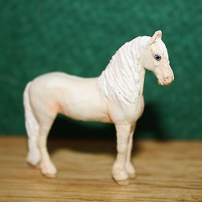 "CUSTOM Pewter ""Josine Vingerling"" Micro Mini Andalusian Horse by Naervon"