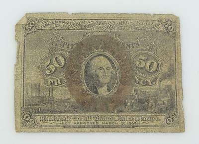 Series 1863 FRACTIONAL CURRENCY 50 Cent United States NOTE Second Issue * E93