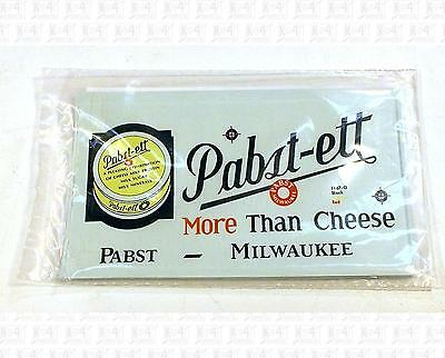 Walthers O Decals Pabst-Ett Cheese Billboard Reefer 1167