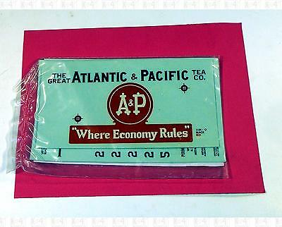 Walthers O Decals Atlantic and Pacific Tea Co Ice Reefer 1104