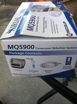 Compact Compressor Nebulizer with Reusable and Disposable Neb Kit.