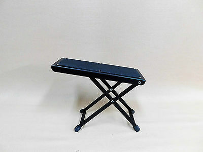FOUR (x4) Haze J-46 Guitar Practice / Performance Foot Rest Stools – Collapsible