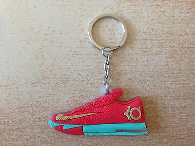 porte clé keychain nike kd kevin durant rouge vert red green