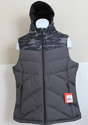 NWT THE NORTH FACE Women's Kailash Hooded 550 Down Puffer Vest Black M, XL $125