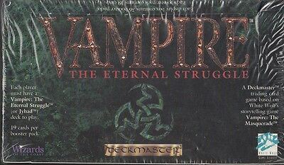 Vampire: the Eternal Struggle Booster Box VTES CCG Sealed