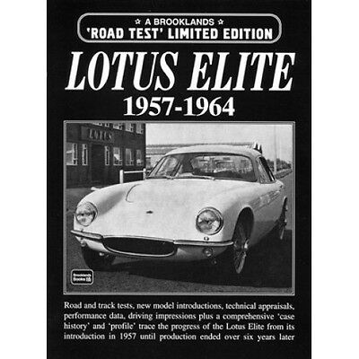 Lotus Elite Limited Edition 1957-1964 book paper