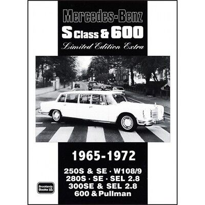 Mercedes-Benz S Class & 600 Limited Edition Extra 1965-1972 book paper