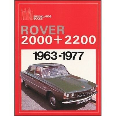 Rover 2000 & 2200 1963-1977 book paper