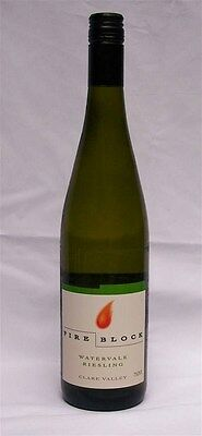 Fire Block `Watervale` Riesling 2013 (12 x 750mL), Clare Valley, SA.