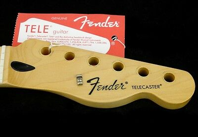 New Manche FENDER TELECASTER maple 21f - pour guitare Fender - Squier