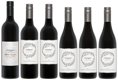 Mixed 6 Pack of Fermoy Estate Cabernets (6 x 750mL), Margaret River.