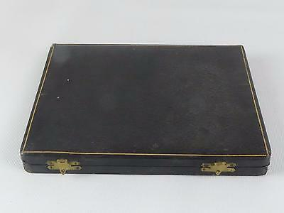 (Ref165CN 3) Empty vintage box case for cutlery knives x 6 measuring 17cm