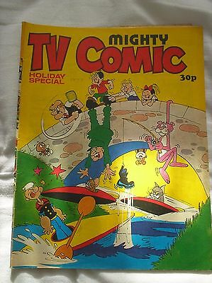 TV Comic Holiday Special 1977 With Doctor Who, Hagar the Horrible and many more