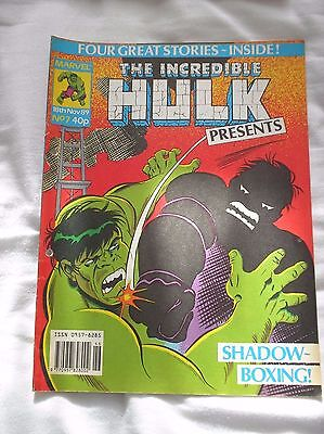 The Incredible Hulk Presents Issue No.7 With A Doctor Who Comic Strip
