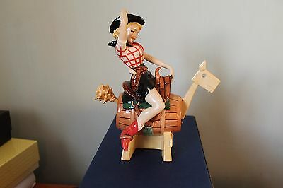 Kevin Francis Peggy Davies Rare Annie Oakley Colourway - only 25