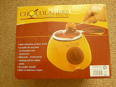 New Chocolatiere Electric Chocolate Melting Pot - A fondue for chocolate!