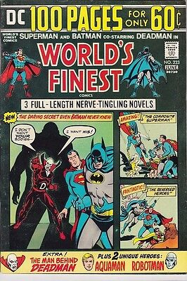 World's Finest Comics #223 - 100 Pages (1974) - VFN