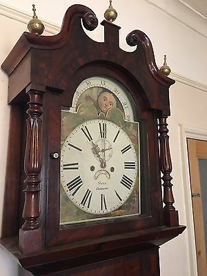 8 Day longcase grandfather clock