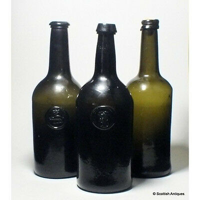 Late 18th century sealed bottle