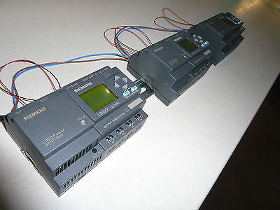 3 X Siemens Logo! 12/24Rc 8 Input/4 Output Plc With Power Module