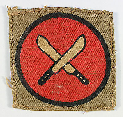 East Africa Command WW2 Printed Formation Sign Badge