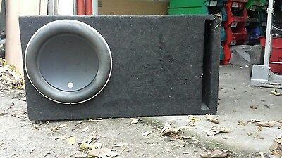 Genuine 13 W7 JL sub subwoofer with ported box