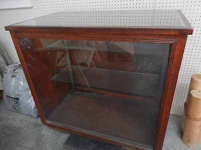 Antique Wood / Glass Display Case