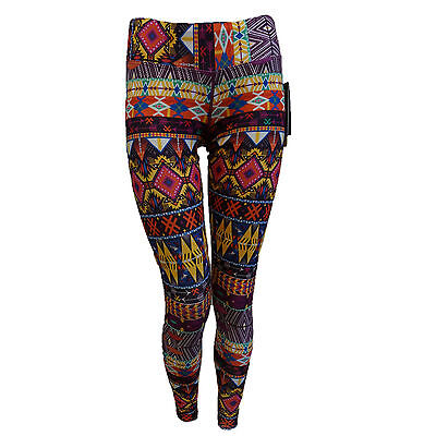 Hot Chillys Womens Thermal Tight Pants MTF Sub Ski HC7438 Primitive Pop