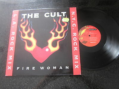 """The Cult """"fire Woman"""" Remix 12"""""""